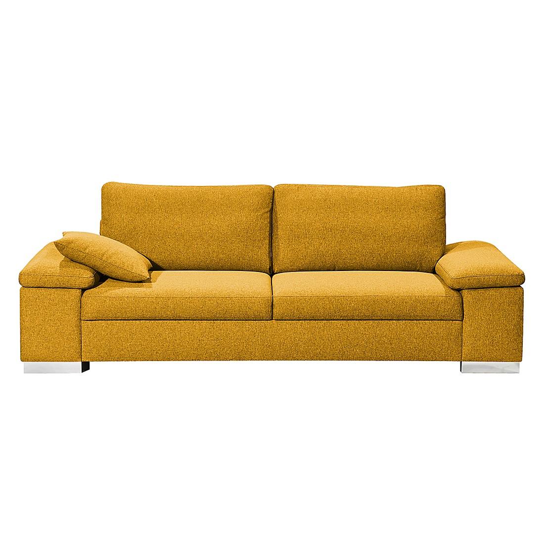 Sofa Casual Line V (3-Sitzer) – Strukturstoff – Gelb, Claas Claasen günstig bestellen