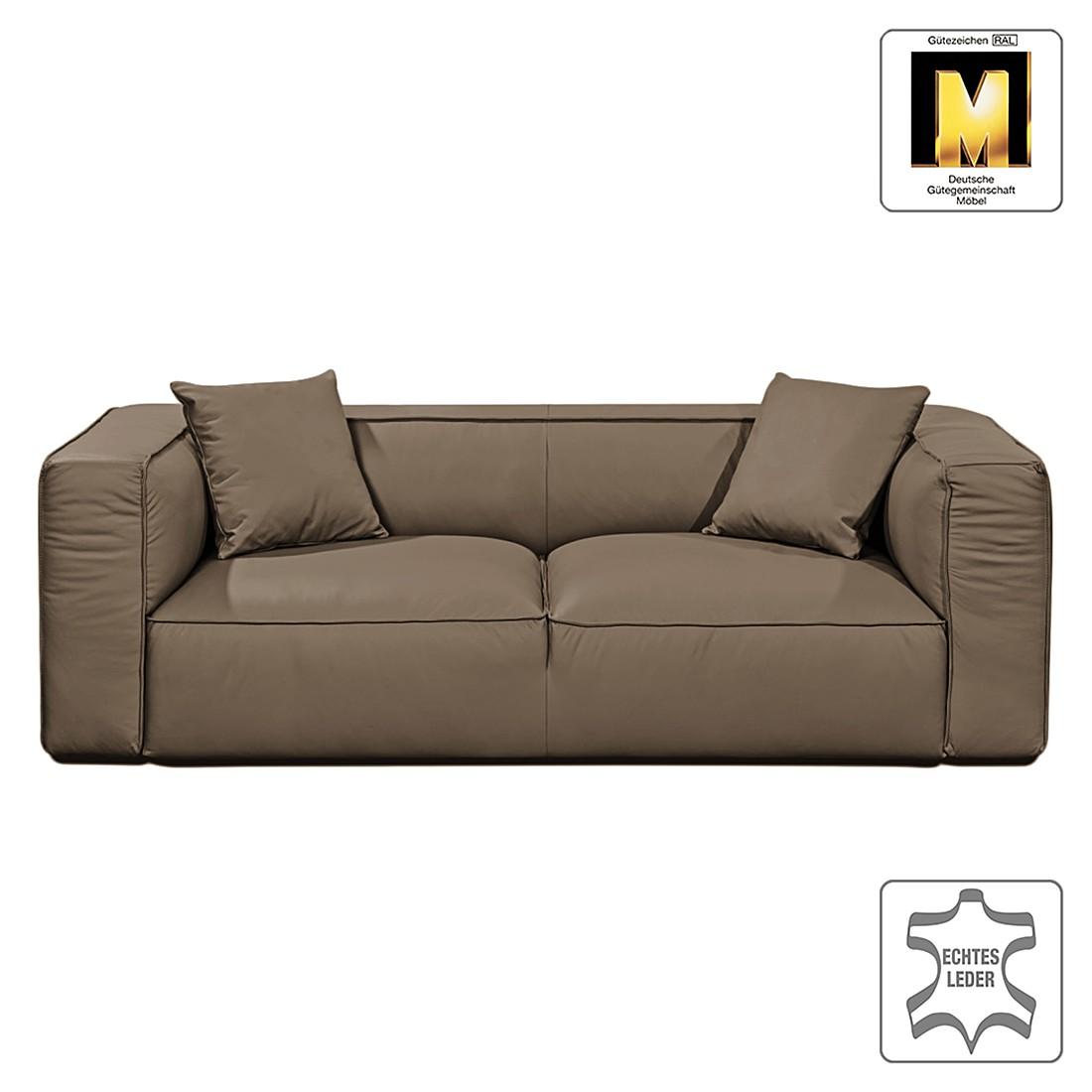 Sofa Casual Line VIII (2-Sitzer) – Echtleder Hellbraun, Claas Claasen kaufen