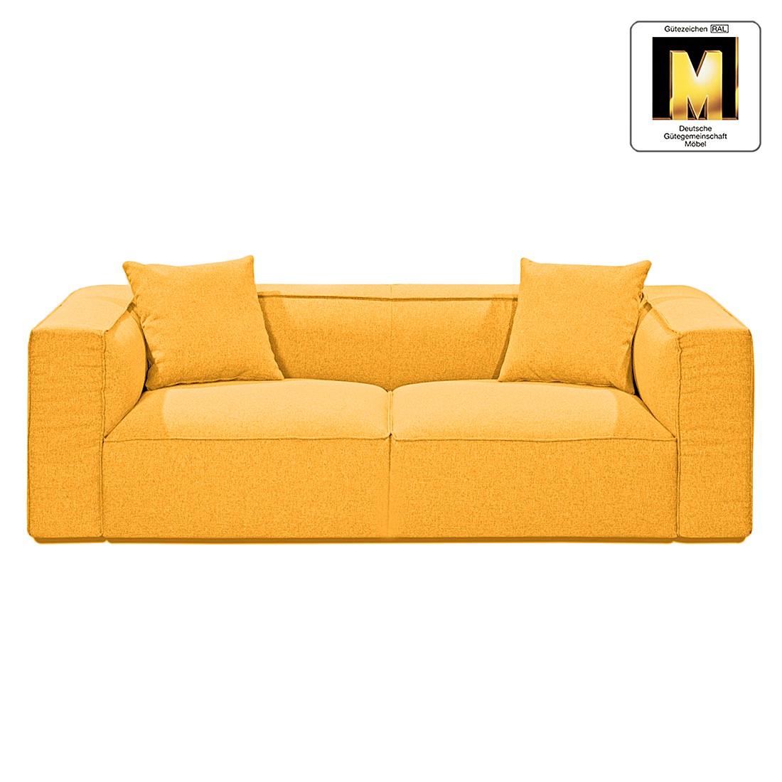 Sofa Casual Line VIII (3-Sitzer) – Strukturstoff Gelb, Claas Claasen günstig online kaufen