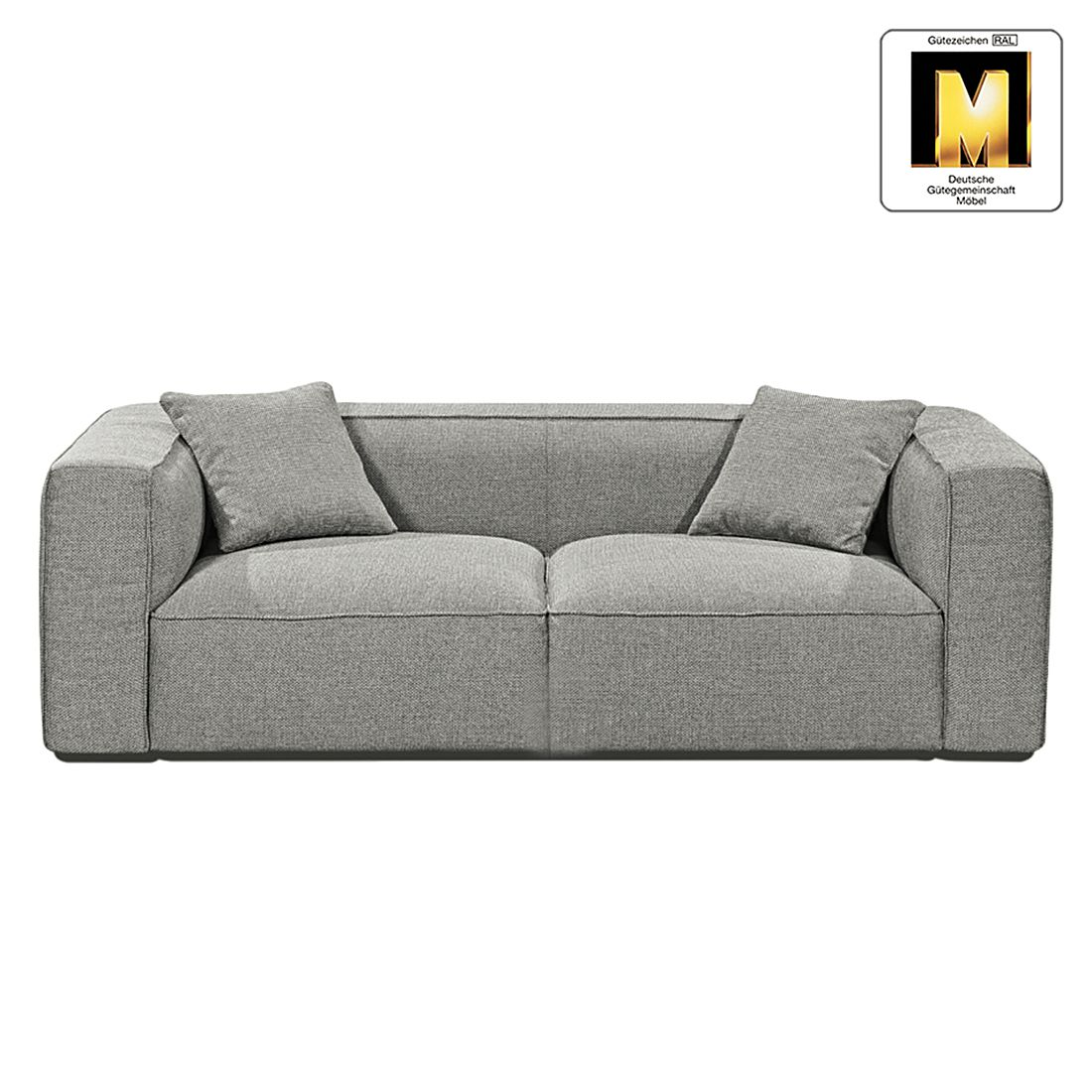 sofa casual line viii 3 sitzer strukturstoff hellgrau claas claasen g nstig online kaufen. Black Bedroom Furniture Sets. Home Design Ideas