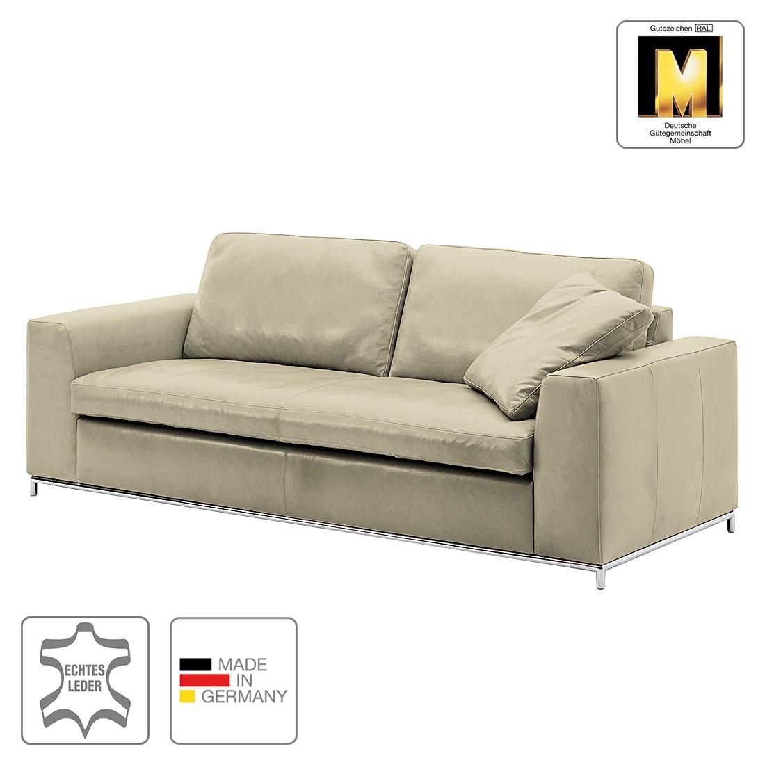 Sofa Concept102-M (3-Sitzer) – Echtleder – Grau – Ohne Kissen, Machalke Polsterwerkstätten kaufen