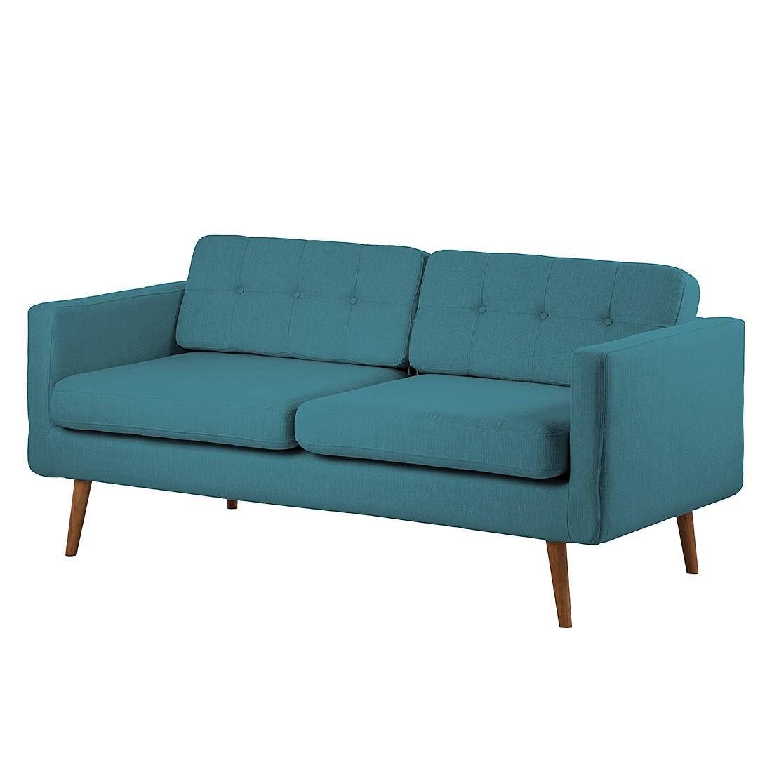 Morteens Sofa Croom (3-Sitzer) - Webstoff - Türkis