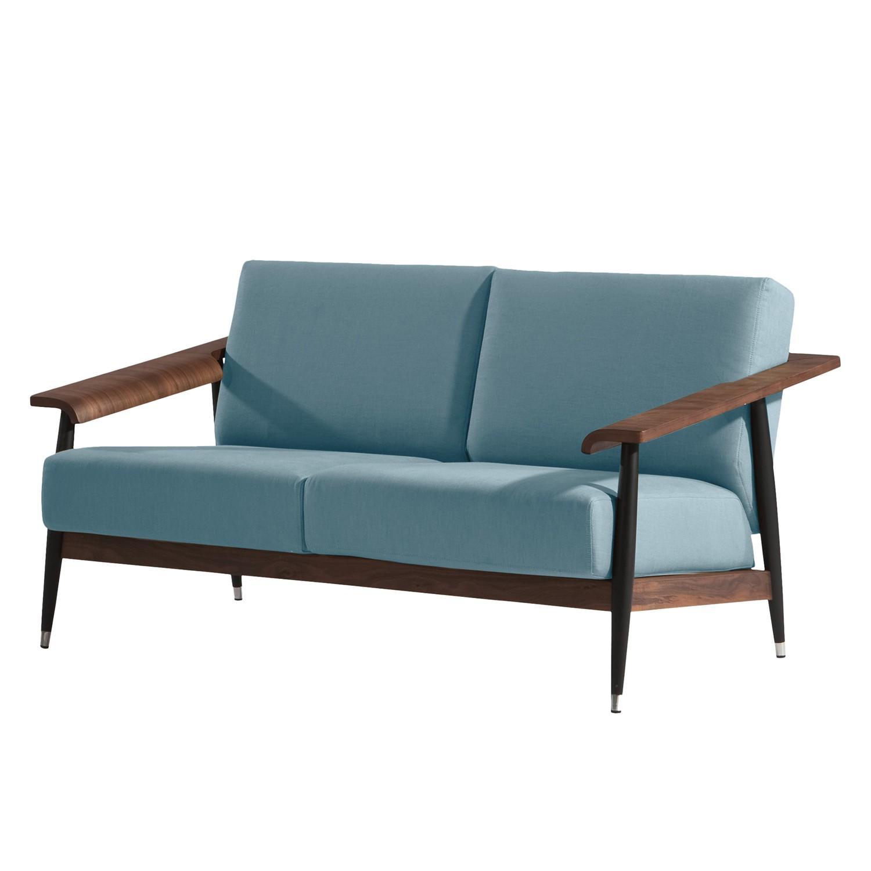 Sofa Dowel (2-Sitzer) - Flachgewebe - Blau, Studio Copenhagen