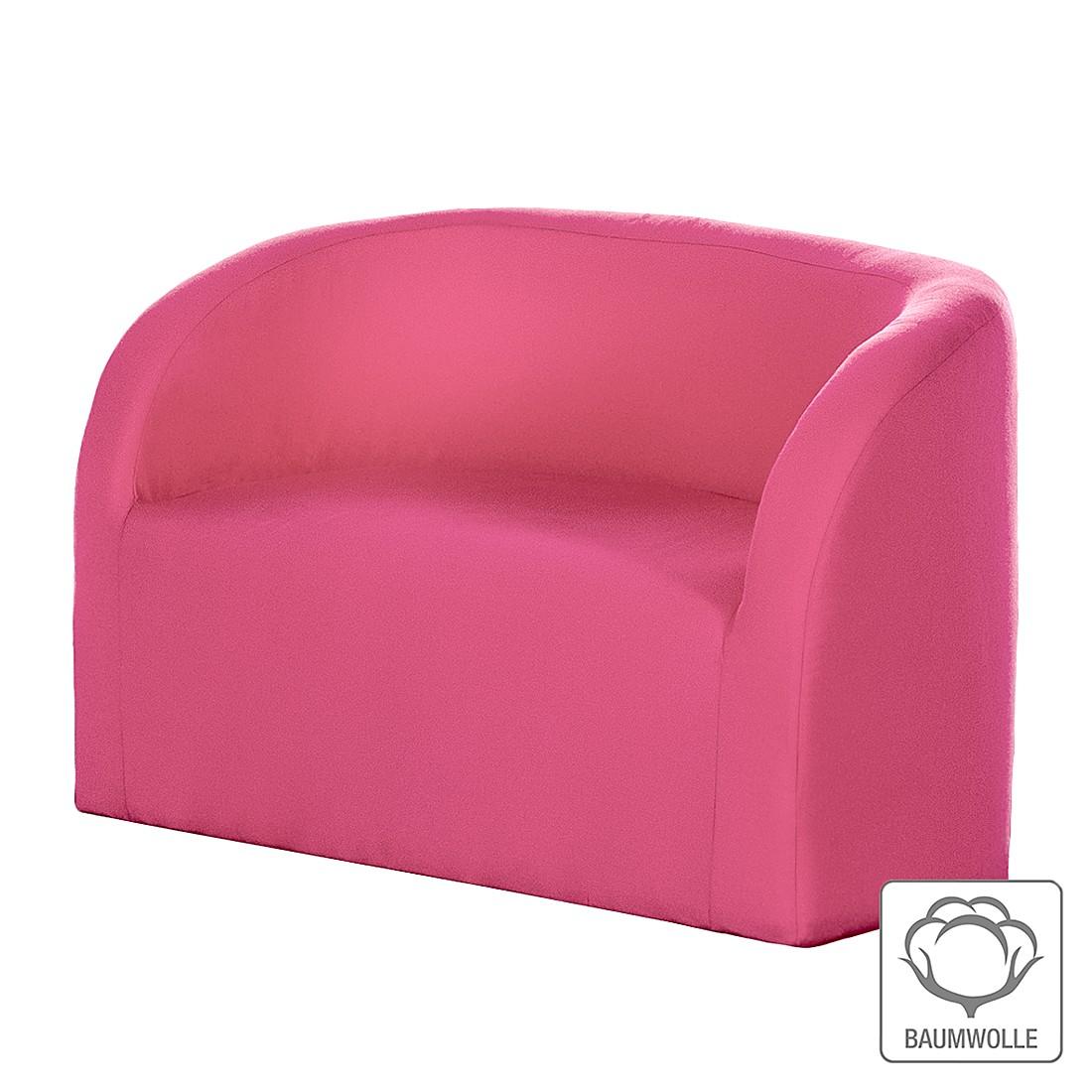 Sofa Emilia – Baumwollstoff Pink, Kids Club Collection jetzt kaufen