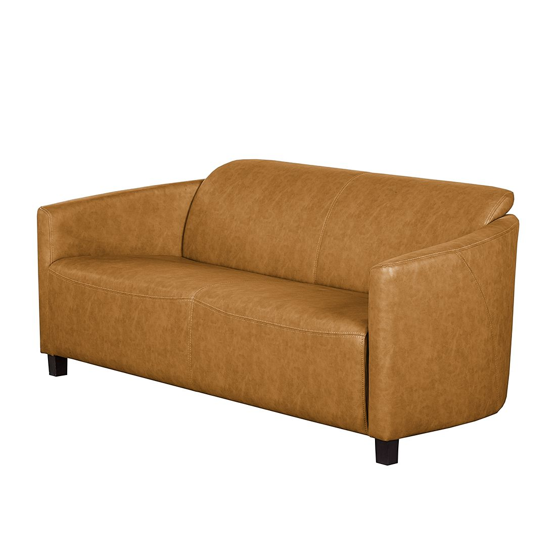 sofa jill 2 sitzer kunstleder stoff wei grau pictures to pin on pinterest. Black Bedroom Furniture Sets. Home Design Ideas