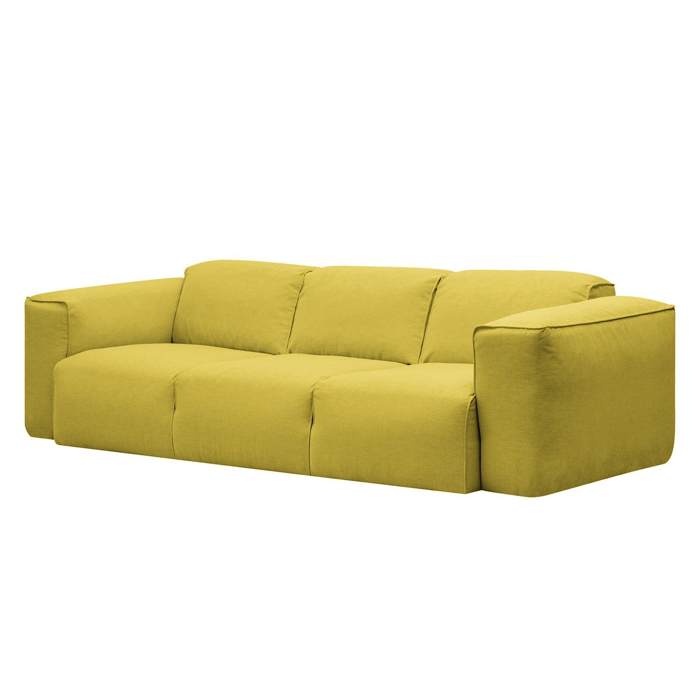 Sofa Hudson I (3-Sitzer) - Webstoff - Stoff Milan Gelb, Studio Copenhagen