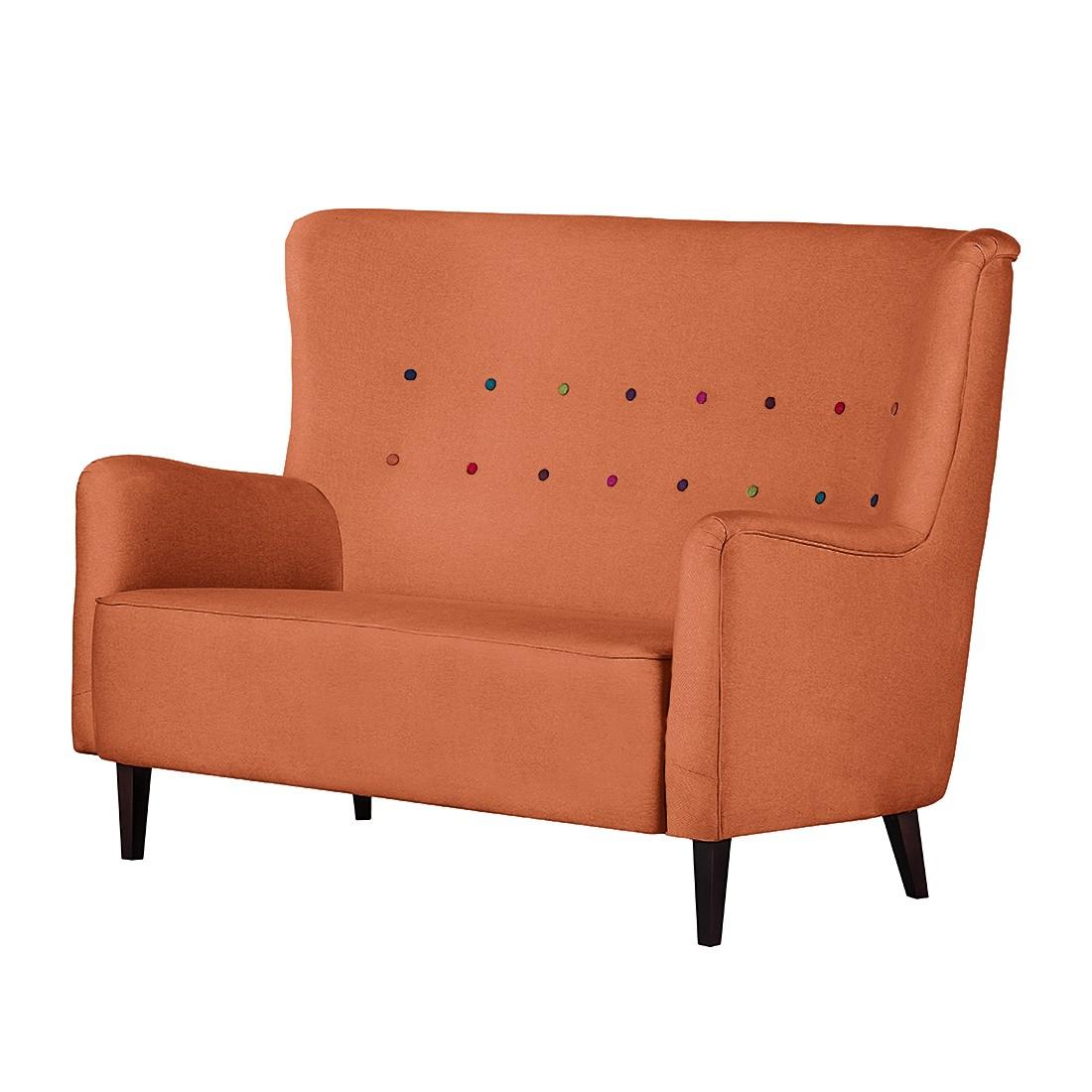 Sofa Josslyn (2-Sitzer) – Webstoff Orange, Mørteens jetzt kaufen
