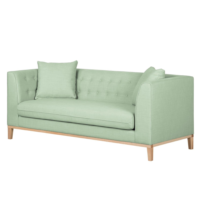 Sofa Lenja I (3-Sitzer) – Webstoff – Pastellgrün, kollected by Johanna kaufen