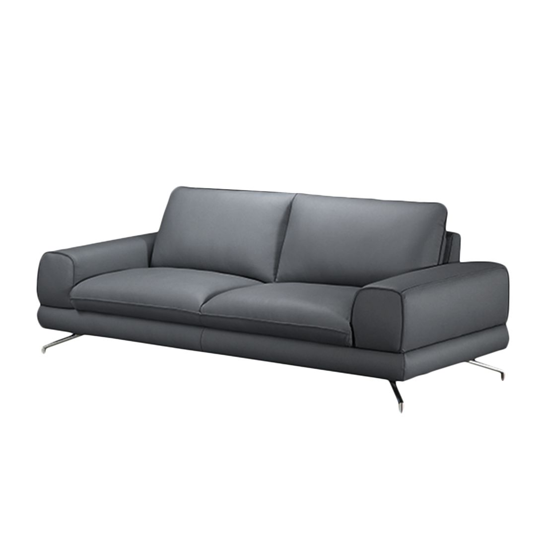 sofa lennard 2 5 sitzer kunstleder grau loftscape jetzt bestellen. Black Bedroom Furniture Sets. Home Design Ideas