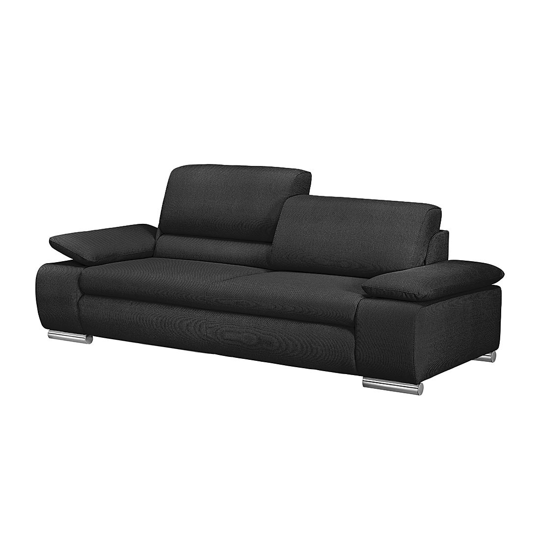 sofa masca 3 sitzer strukturstoff anthrazit loftscape kaufen. Black Bedroom Furniture Sets. Home Design Ideas