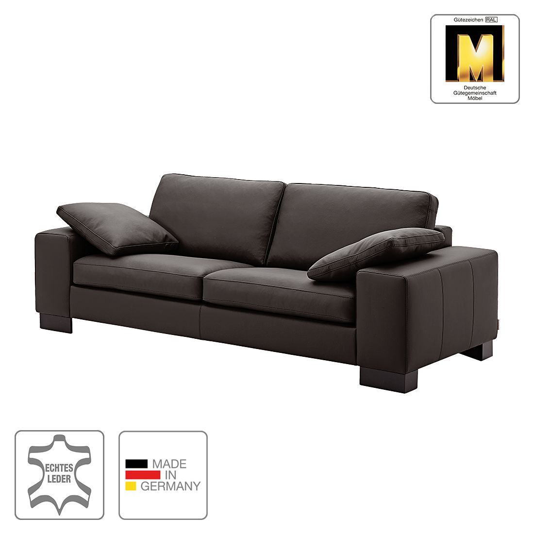 3 sitzer sofas leder preisvergleiche erfahrungsberichte und kauf bei nextag. Black Bedroom Furniture Sets. Home Design Ideas