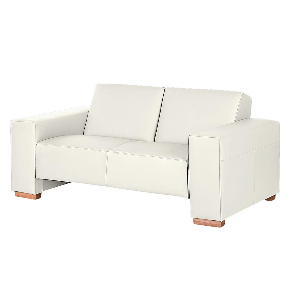 preisvergleich eu leder sofa 2 sitzer leder wei. Black Bedroom Furniture Sets. Home Design Ideas