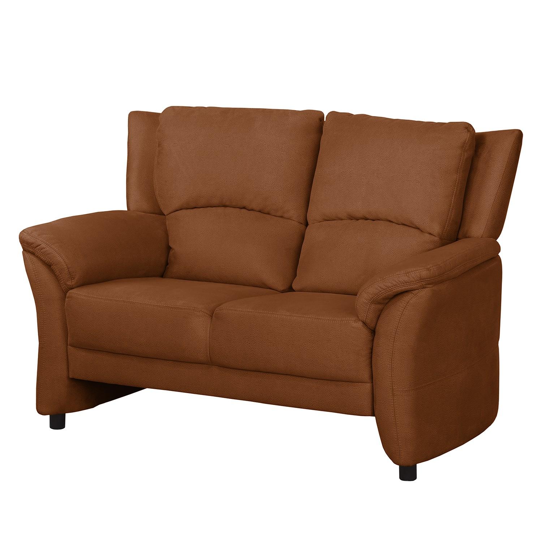 Sofa Muncaster (2- Sitzer) - Microfaser - Honigbraun, Nuovoform