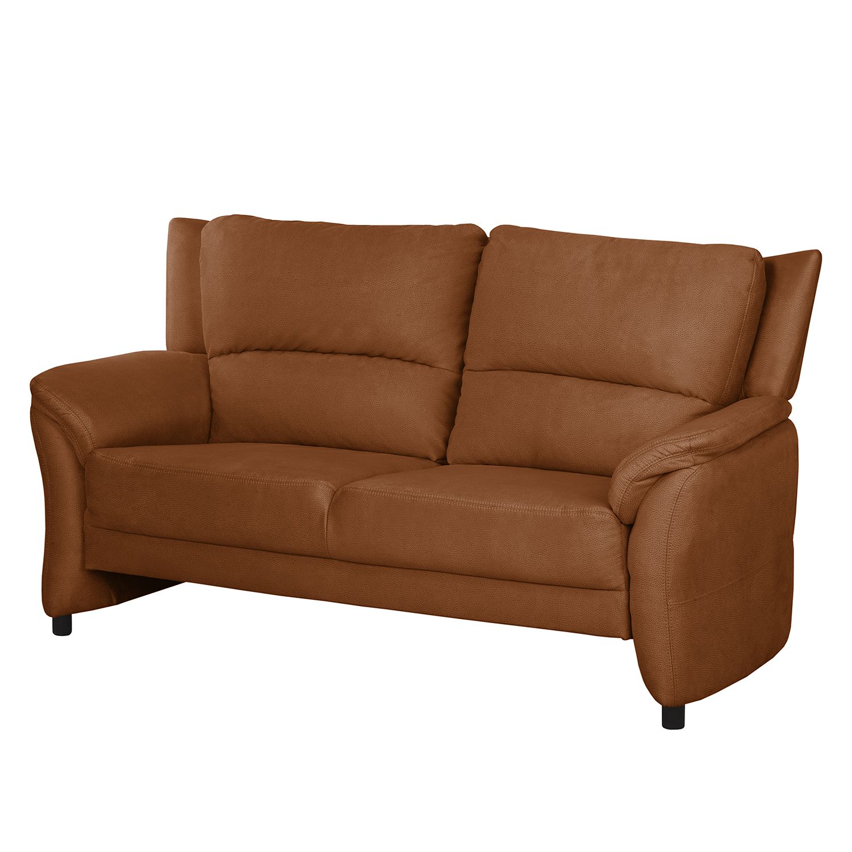 Sofa Muncaster (3- Sitzer) - Microfaser - Honigbraun, Nuovoform