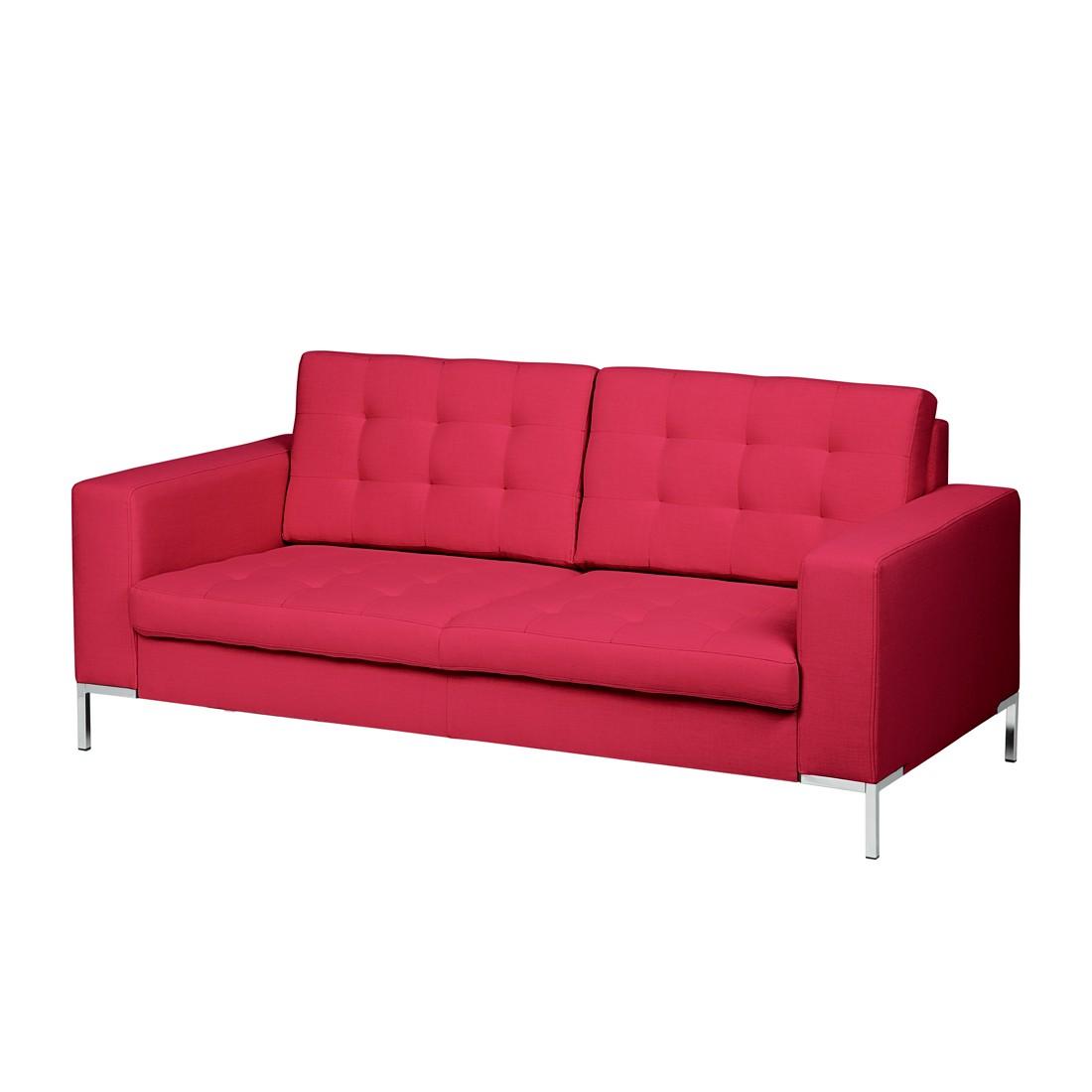 Sofa Nistra (2-Sitzer) – Stoff Pink, Fredriks günstig