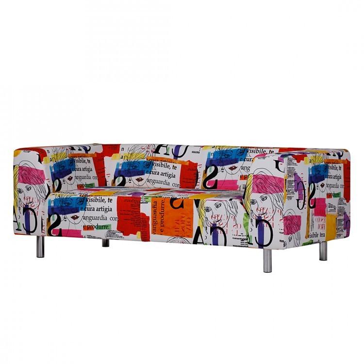 Sofa Print (3-Sitzer) – Druckstoff Bunt, Studio Monroe günstig kaufen