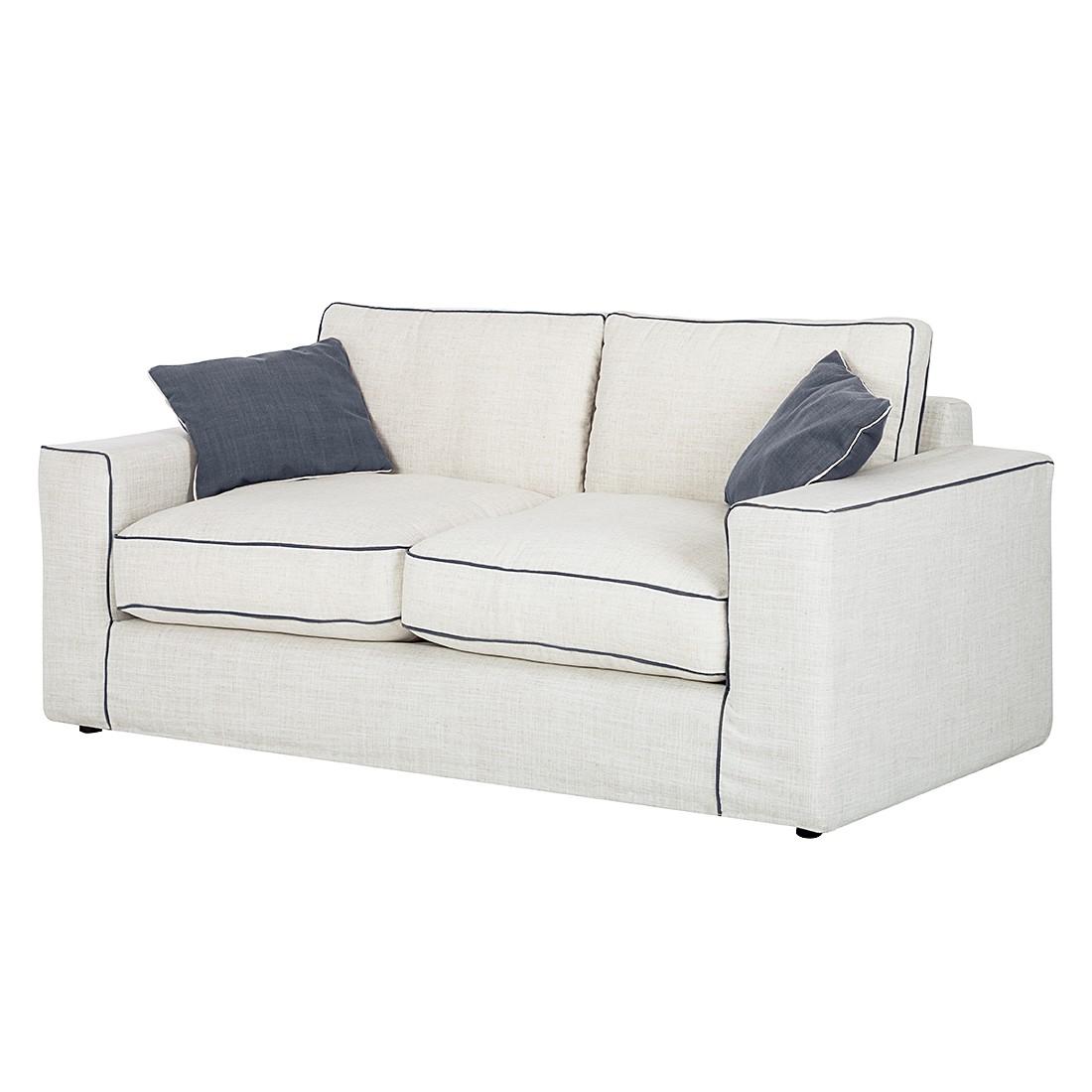 sofa pompidou 3 sitzer webstoff beige dunkelblau jack alice jetzt bestellen. Black Bedroom Furniture Sets. Home Design Ideas
