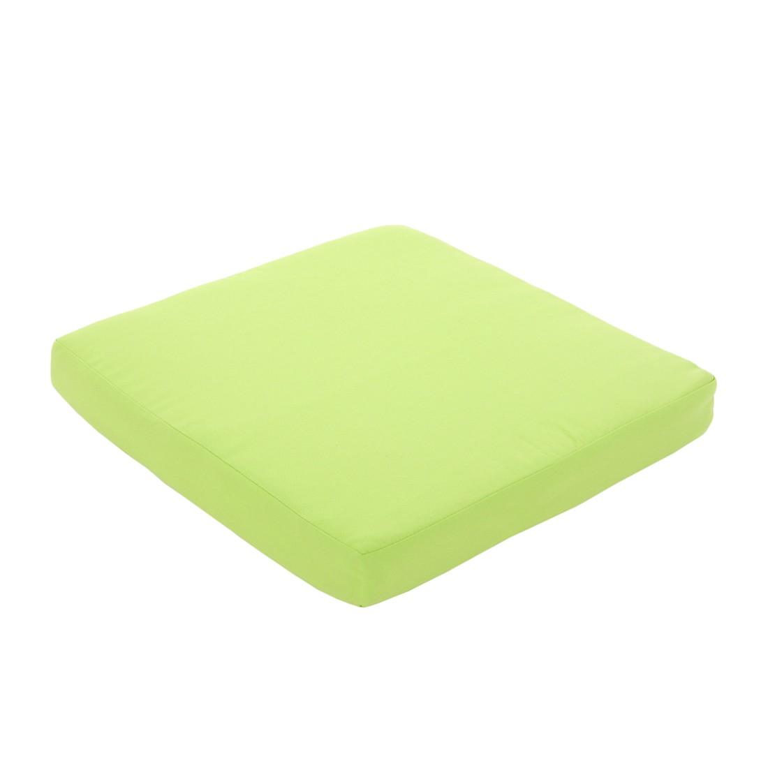 Sofa Sevilla – Poly-Rattan – modulare Gastronomie-Qualität – Hellgrün – Sitzkissen, Mendler kaufen