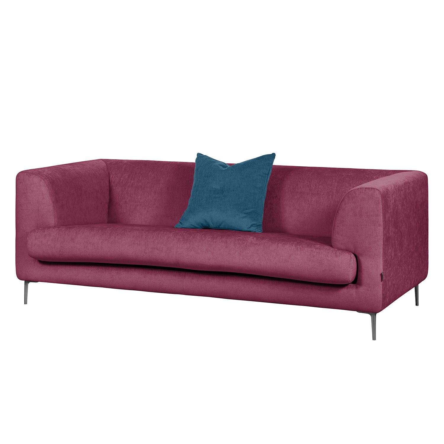Sofa Sombret (2,5-Sitzer) - Webstoff - Lipstick Pink, Says Who
