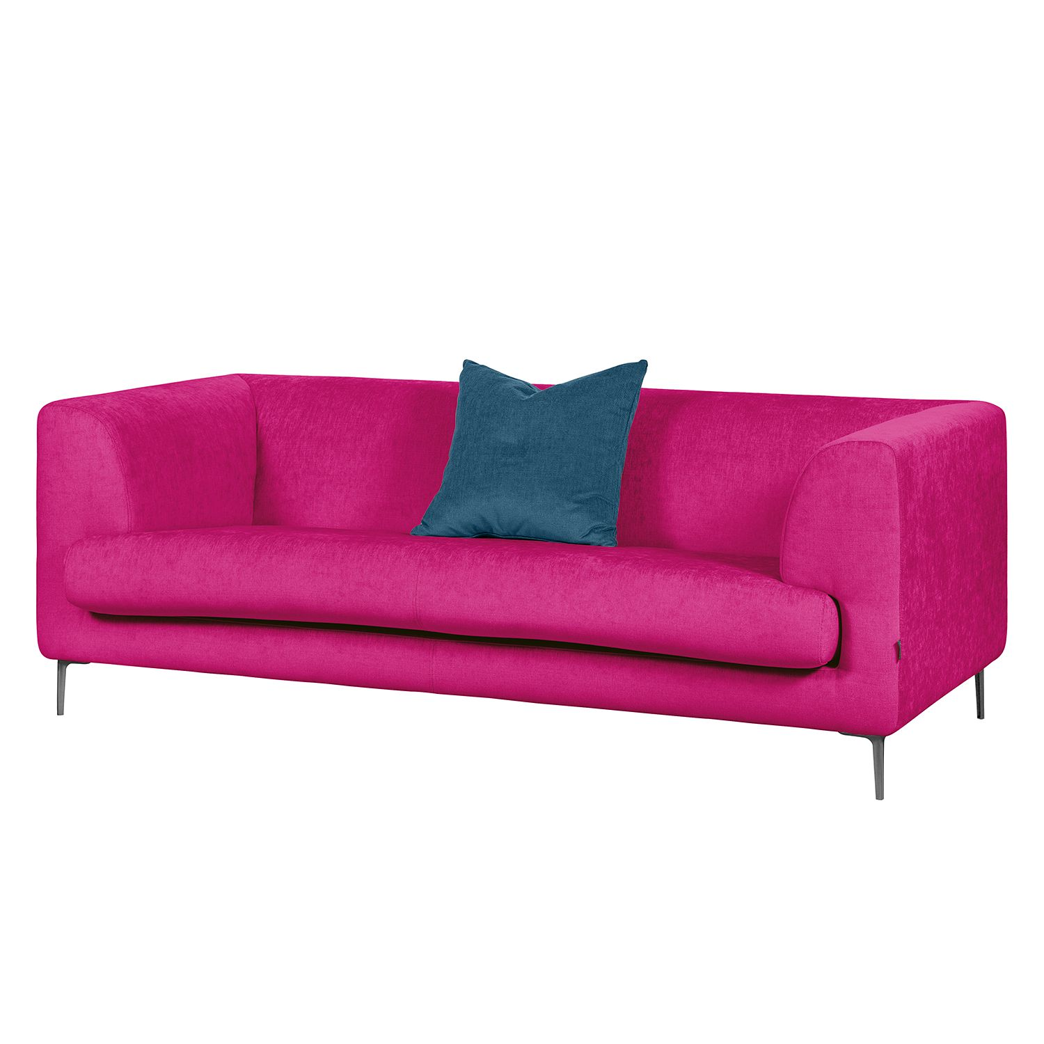Sofa Sombret (2,5-Sitzer) - Webstoff - Pink, Says Who