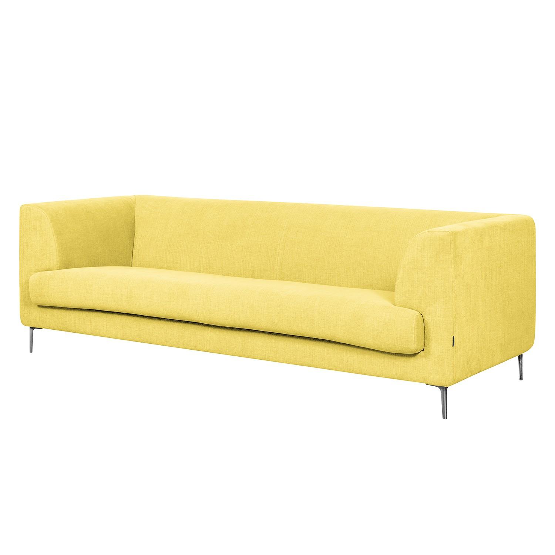 Sofa Sombret (3-Sitzer) - Webstoff - Gelb, Says Who