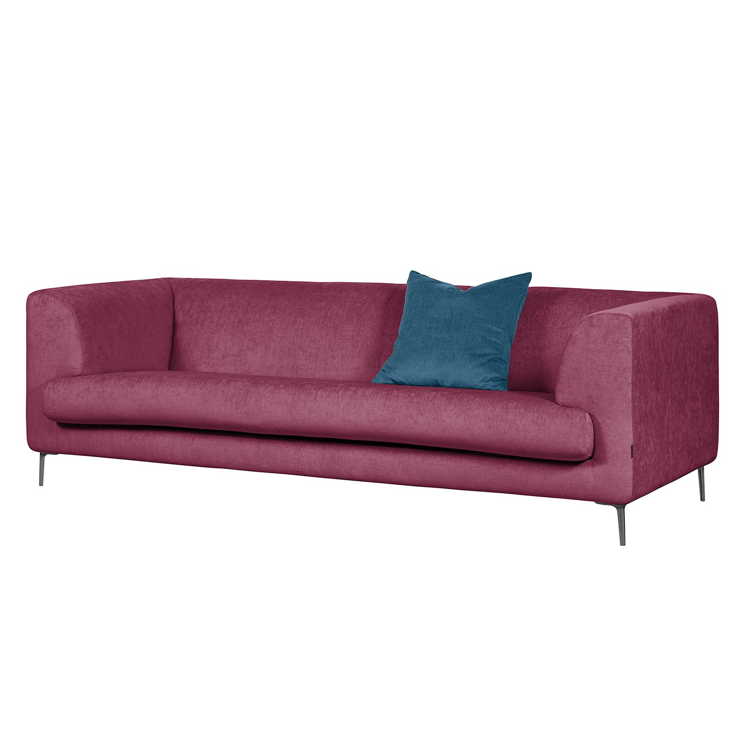 Sofa Sombret (3-Sitzer) - Webstoff - Lipstick Pink, Says Who
