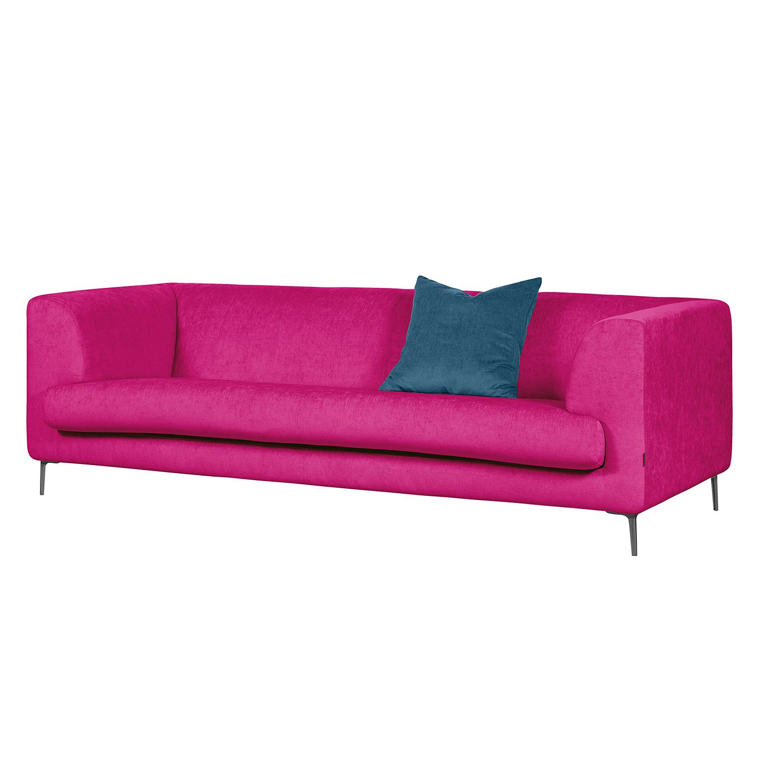 Sofa Sombret (3-Sitzer) - Webstoff - Pink, Says Who