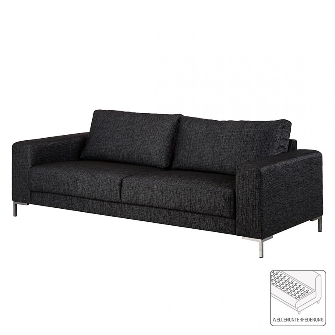 Sofa Summer (3-Sitzer) – Stoff Schwarz, Fredriks jetzt kaufen