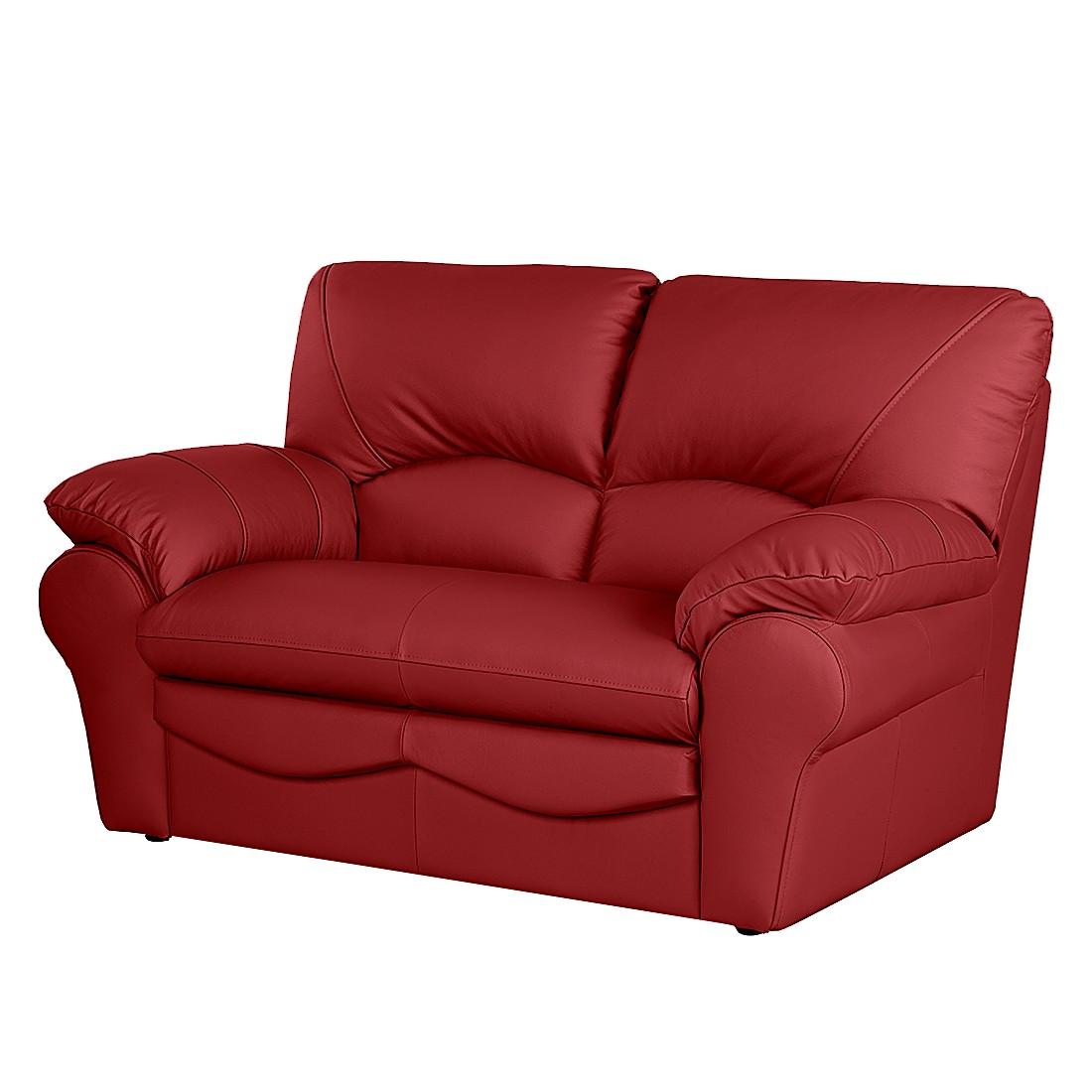 Sofa Torsby (2-Sitzer) – Echtleder Rot, Nuovoform kaufen