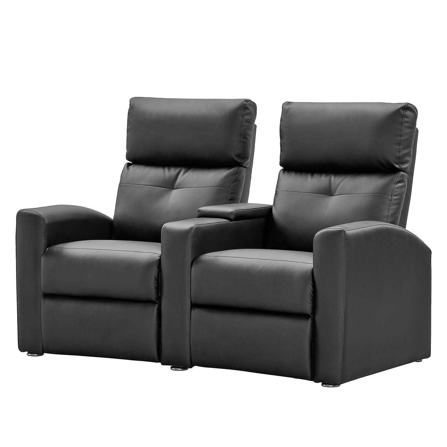 kunstleder couch schwarz 3 sitzer sofa schwarz kunstleder einzelsofas 2er 2 sitzer sofa. Black Bedroom Furniture Sets. Home Design Ideas