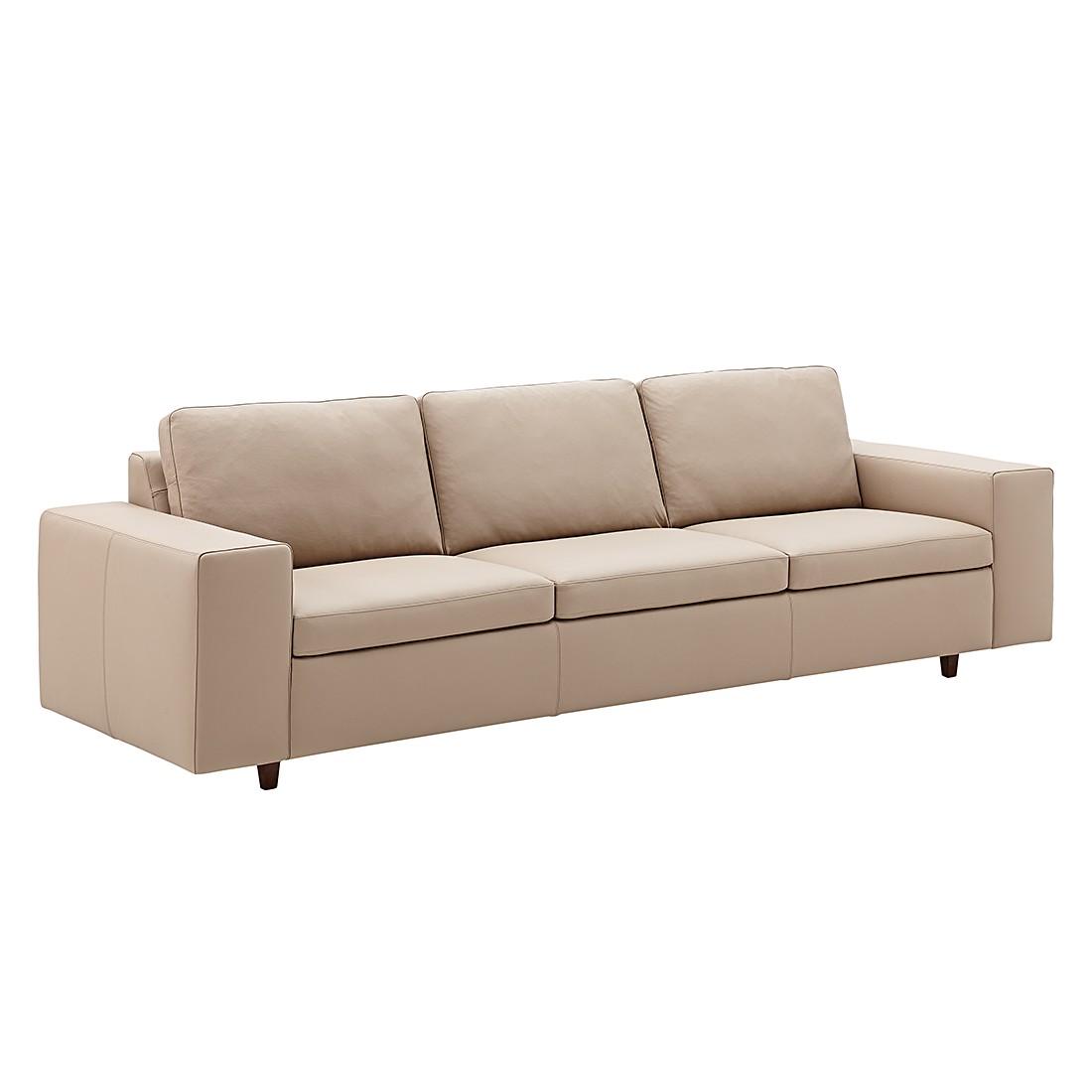 Sofa Wega (4-Sitzer) - Echtleder - Taupe, Machalke Polsterwerkstätten