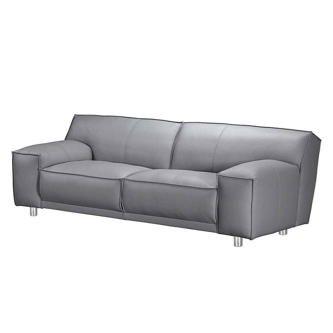 Sofa Willem (2,5-Sitzer) – Kunstleder Grau, loftscape kaufen