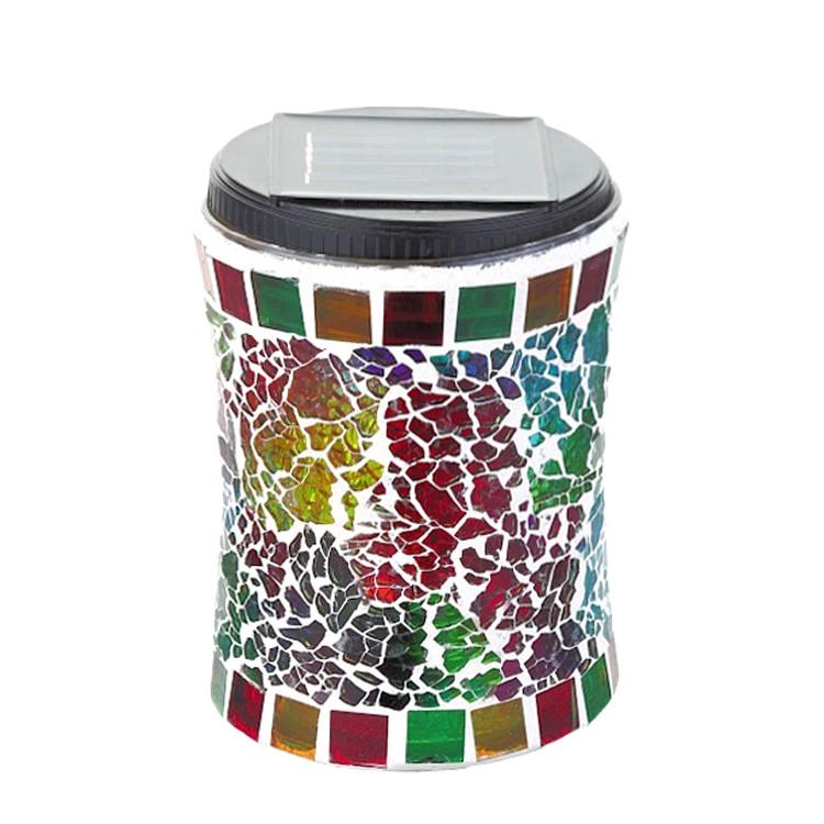 EEK A+, Solarleuchte Mosaic – Glas/Kunststoff, Rabalux kaufen