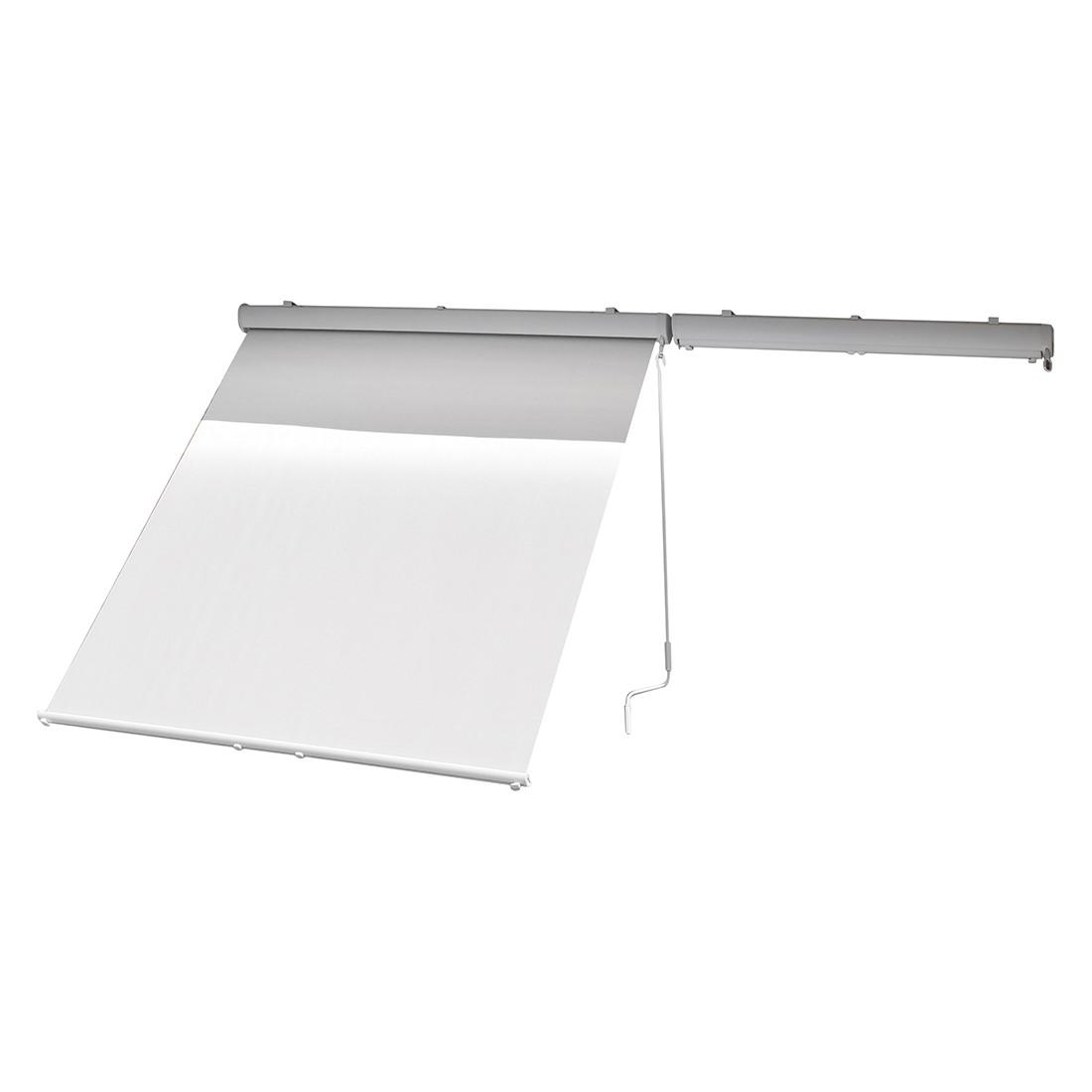 Sonnenrollo Machabe II - Webstoff Grau, Leco