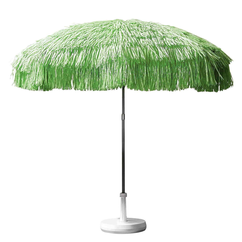 Sonnenschirm Hawaii - mit Fransen - Grün, Jan Kurtz