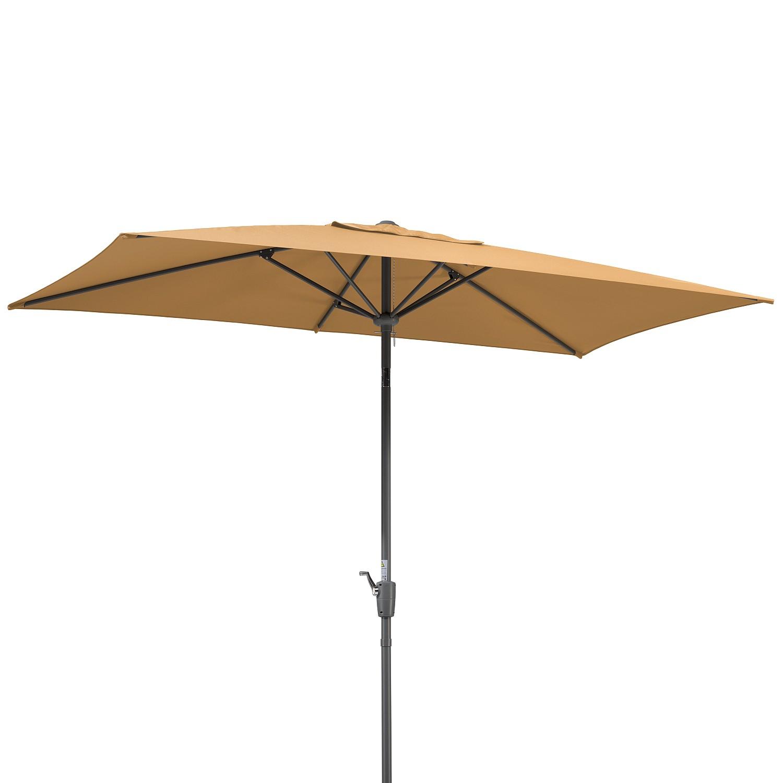 sonnenschirm tunis webstoff stahl sand schneider With französischer balkon mit sonnenschirm tunis
