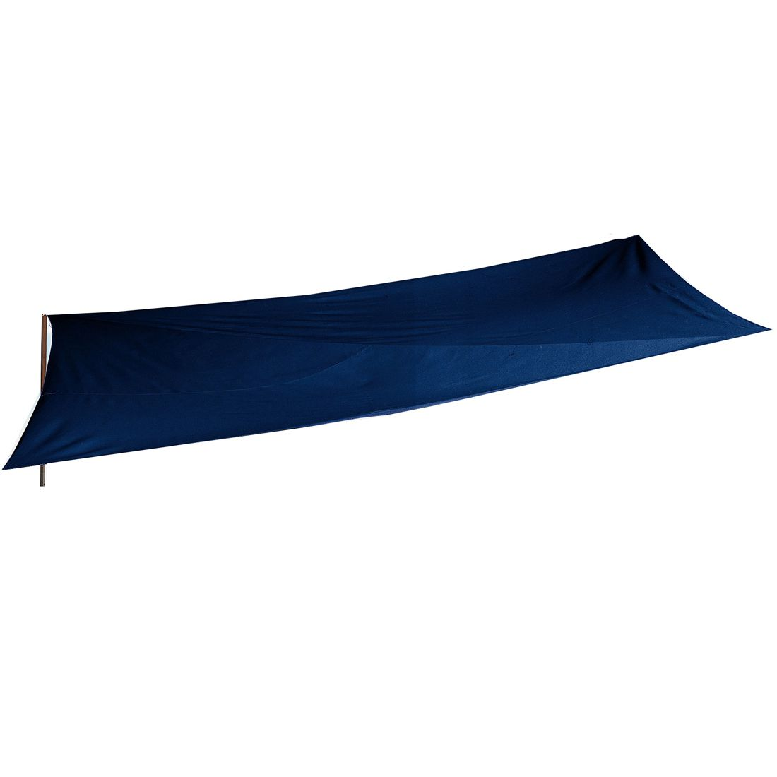 Sonnensegel 3 x 3 m - Polyester - blau, Pure Day