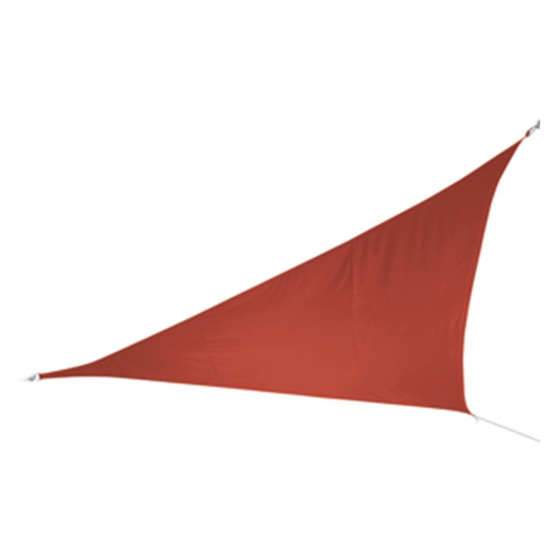 Sonnensegel - Polyester - Terracotta - 500 x 500 x 500, Doppler