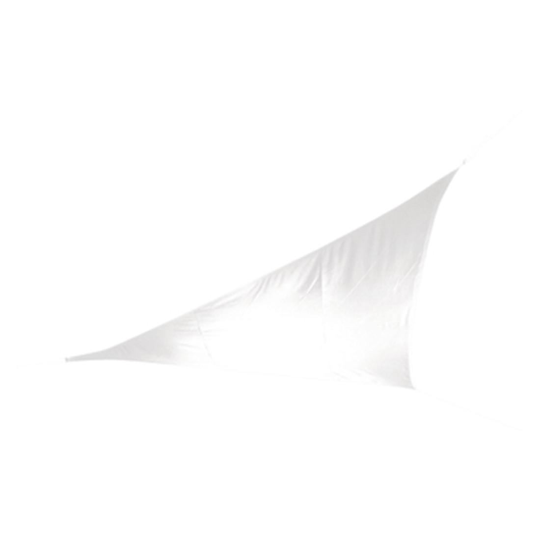 Sonnensegel - Polyester - Weiß - 500 x 500 x 500, Doppler