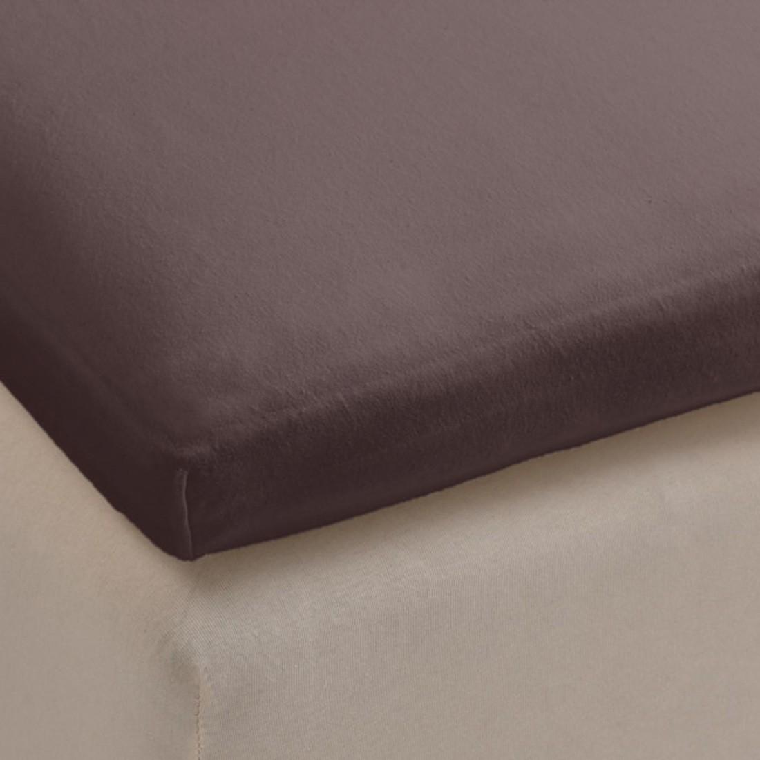 Spannbettlaken Jersey für Split Topper – Anthrazit – Baumwolle – Abmessungen 200x140x35cm, BH günstig bestellen