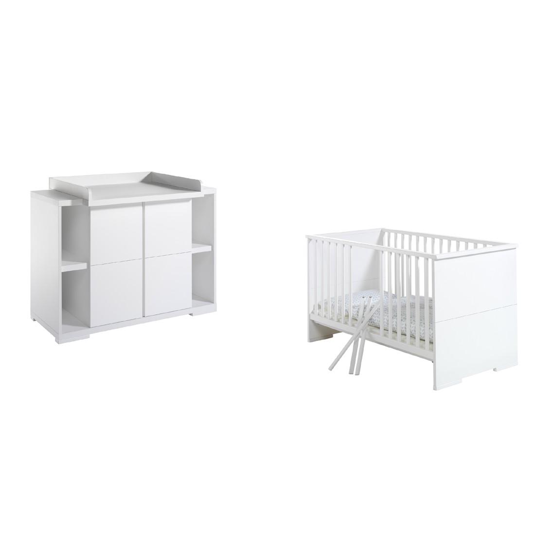 Babyzimmer-Set Maximo- Weiß, Schardt