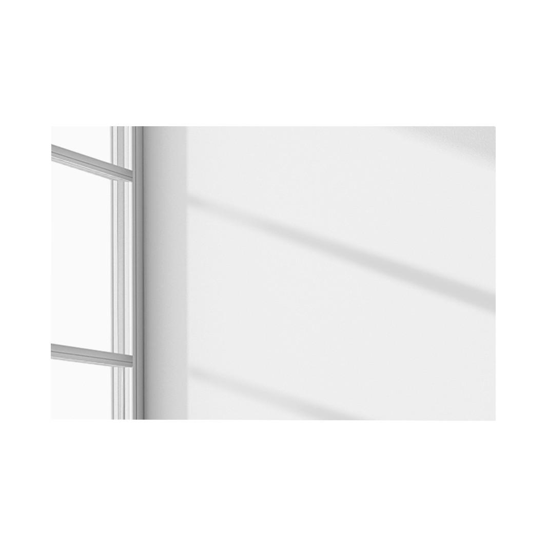 Spiegel Baku – Hochglanz Weiß, Modoform jetzt kaufen