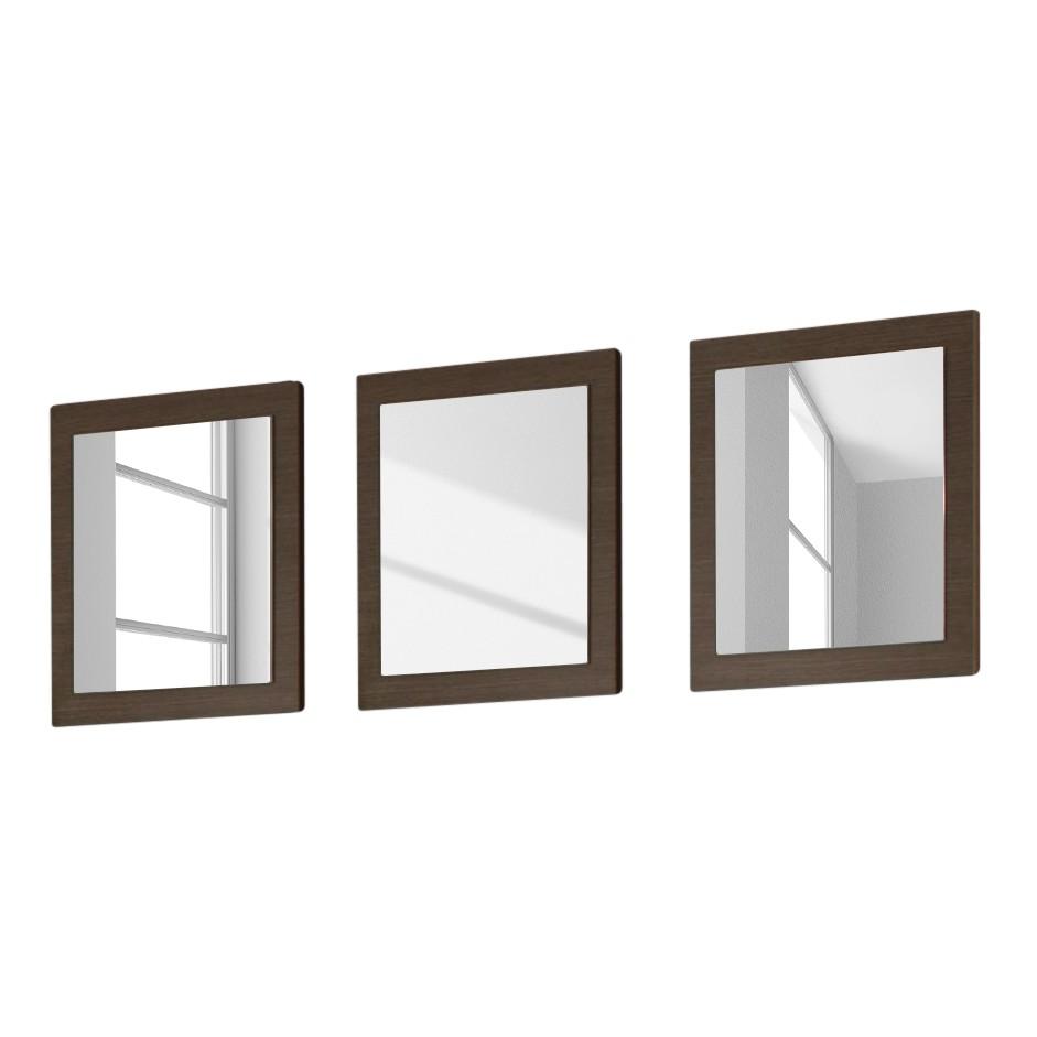 Spiegel Gladiolo (3er-Set) – Eiche Grau Dekor, LC Mobili bestellen