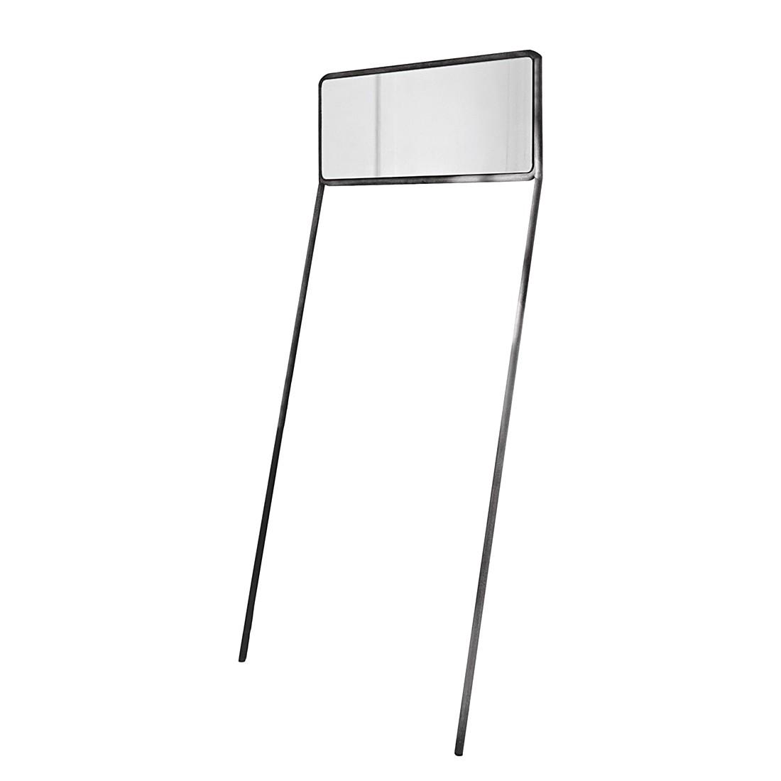 Spiegel Ingham – Rahmen: Eisen, Spiegelglas grau, Loberon kaufen