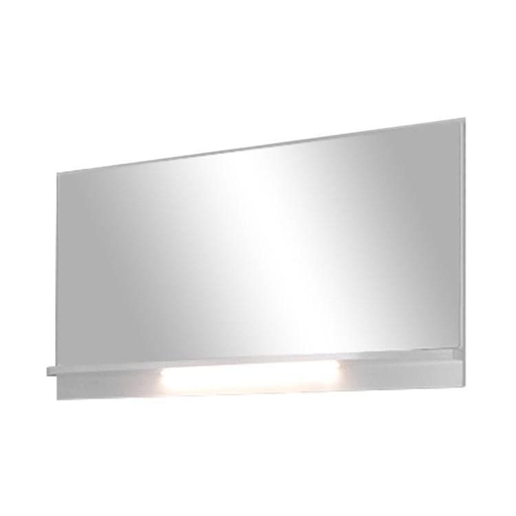 Spiegel Palmares – Hochglanz Weiß – Ohne Beleuchtung, Modoform kaufen