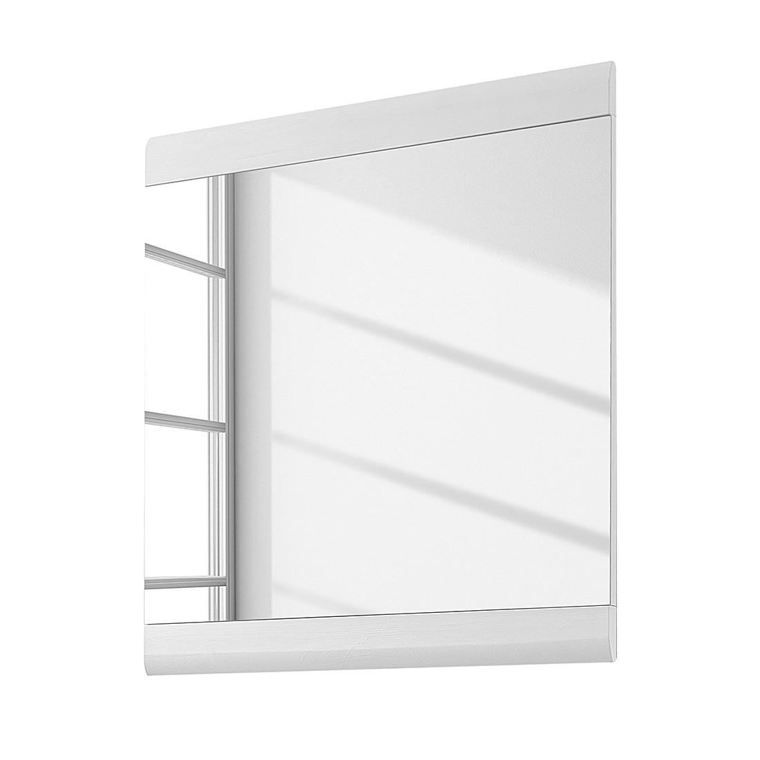 Spiegel Samanta – Silbereiche Dekor/Weiß, Modoform günstig