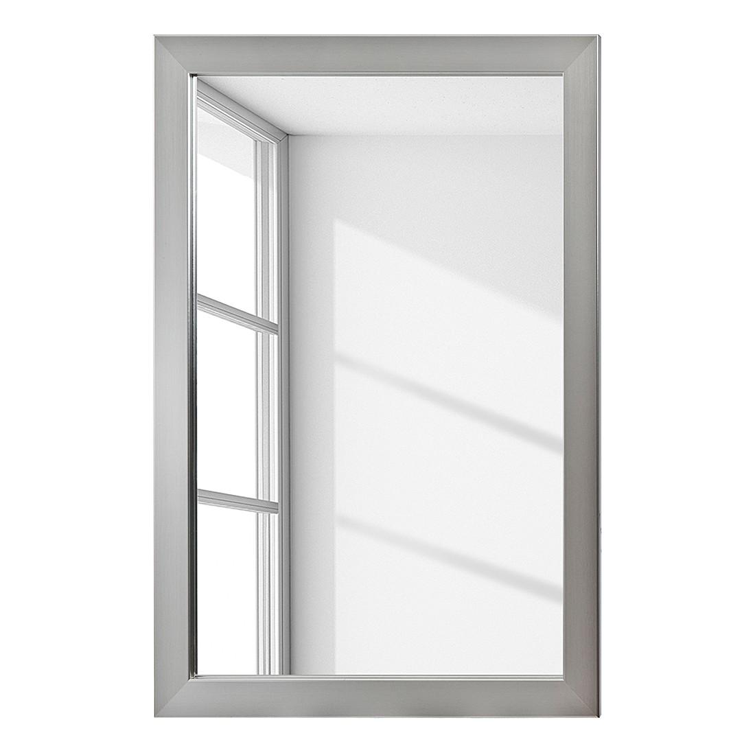 Spiegel Skön I – 78 x 55 cm – Edelstahloptik, Jack & Alice jetzt kaufen