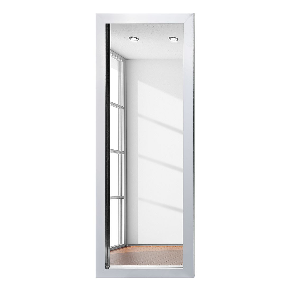 Spiegel Skön II – 38 x 128 cm – Chrom, roomscape online bestellen
