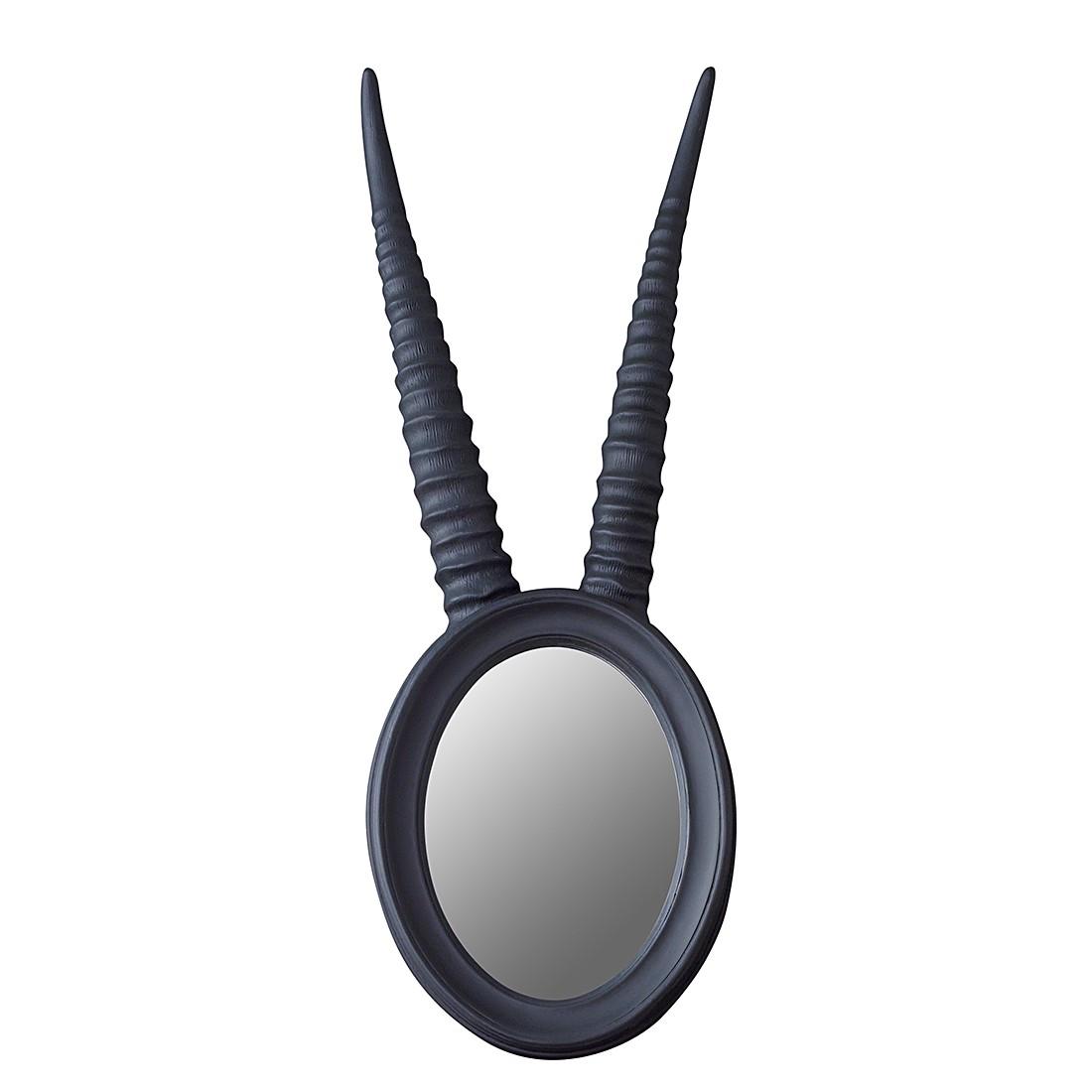 Spiegel Springbok Horn – Polyresin/Glas vergespiegelt Matt Mausgrau, XL Cork kaufen