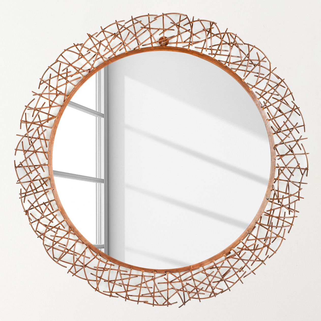 spiegel twig kupfer safavieh m saf 0714 0183 kauf dir. Black Bedroom Furniture Sets. Home Design Ideas